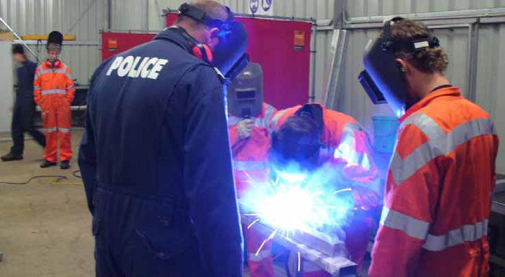 "Rockingham PCYC ""Weld for Life"" program cuts teen crime"