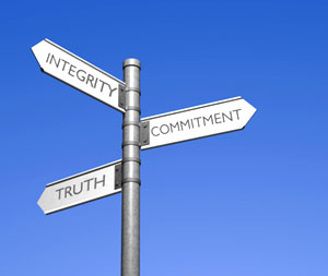 Being trustworthy is about self-alignment and truth. It is the surest way to respect.