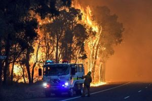 waroona fire - 9 Jan 2016