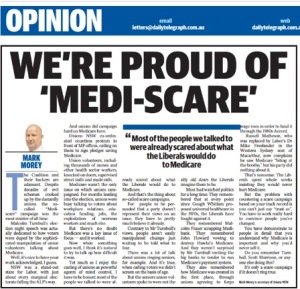 mediscare oped